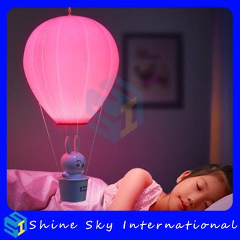 2017 best christmas gifts to kids bedroom hot air balloon night lights rechargeable touchremote