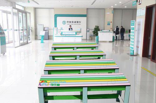 Manufacture Waterproof Bank Waiting Room HPL Bench