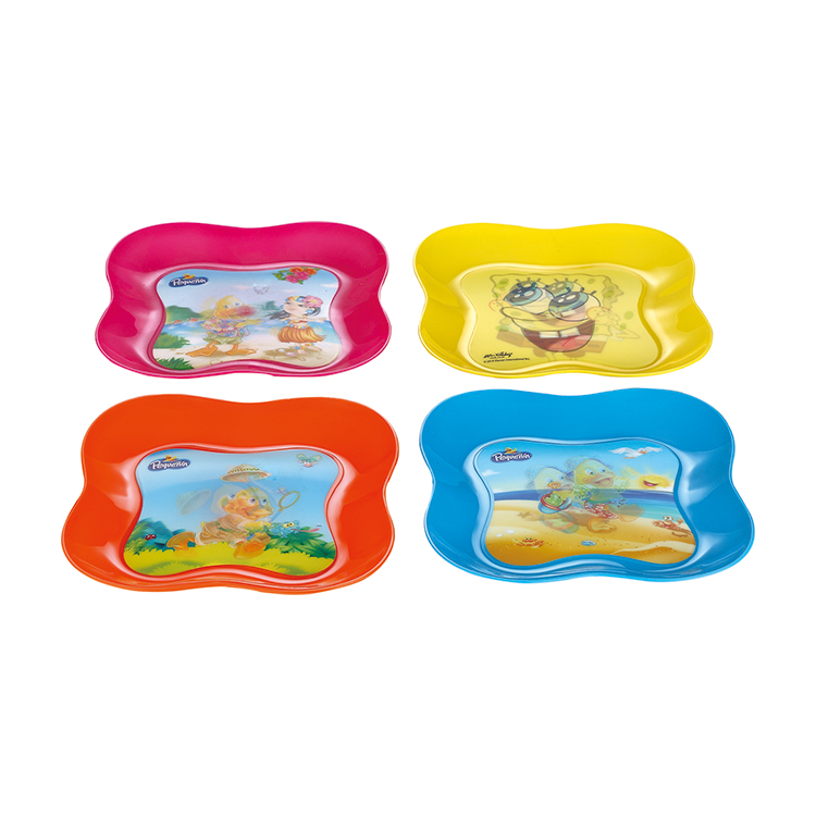 pp plastic dishes and plates