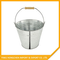 Best seller special design galvanized ice bucket with stand from manufacturer