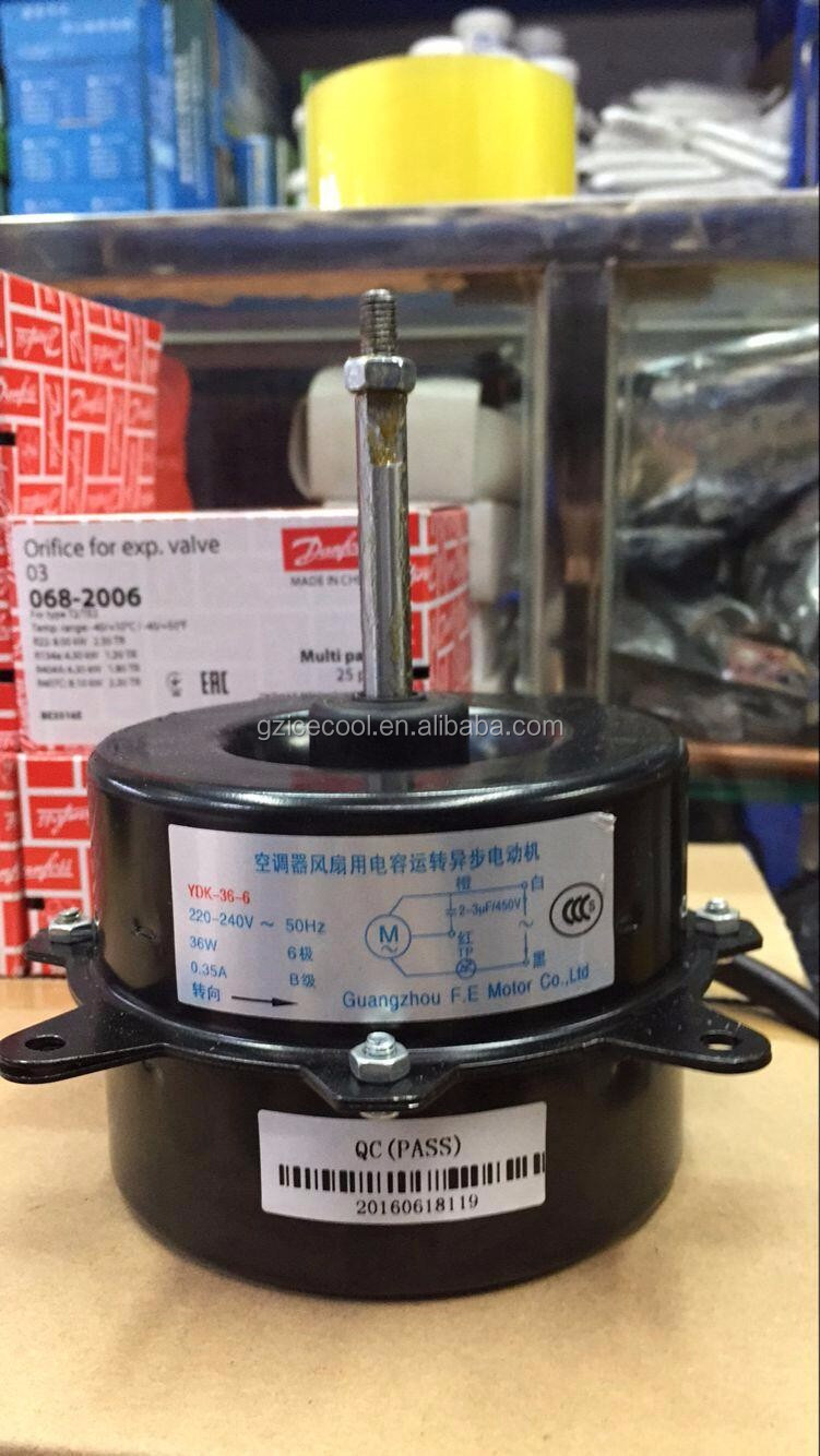 single phase copper wire black outdoor air conditioner fan motor ydk36 6 6 buy air conditioner