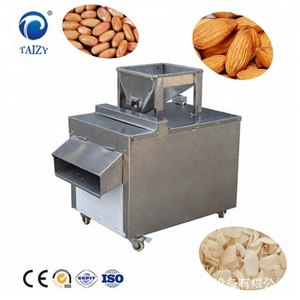 Stainless Steel Cashew Nuts Almond Nuts Cutting Machine Walnut Cutter Slicing Machine For Sale