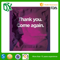 High demand products OEM customized aluminum foil condom foil packaging