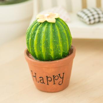 Artificial Office Desk Decoration Mini Cactus