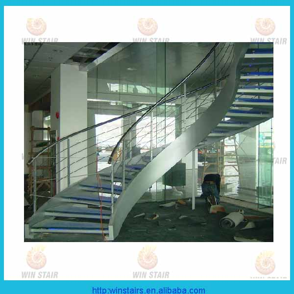 Indoor Staircase Designs / Circular Stair/ Stair Curved Staircase ...
