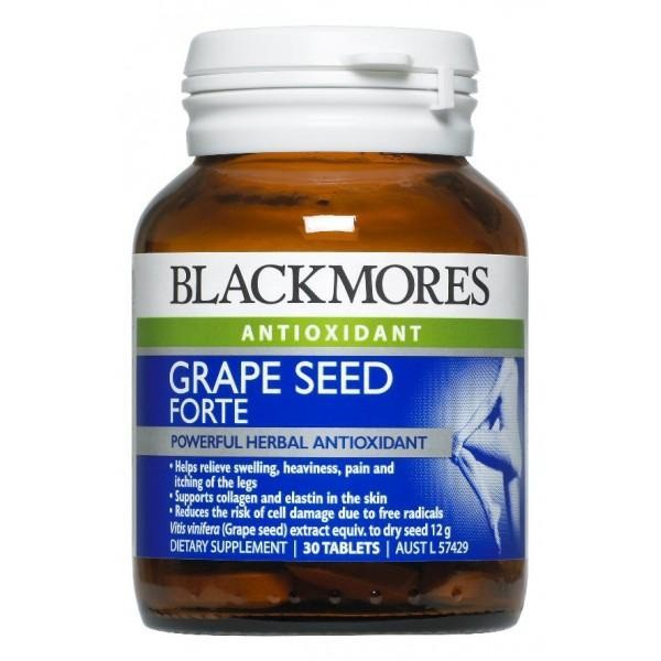 Blackmores Grape Seed Forte 30tablets