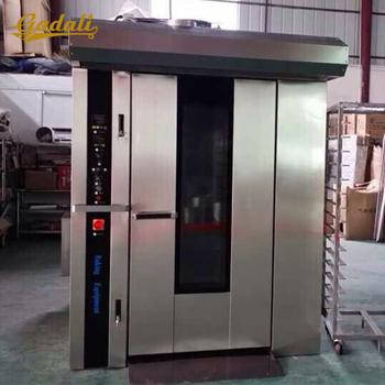 Bread rotating oven gas rotary rack ovens for sale
