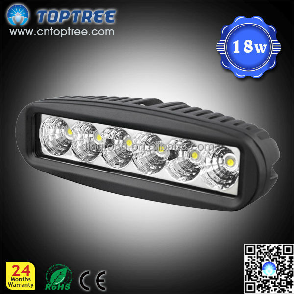 18W heat resistant led lights for automotive off road use