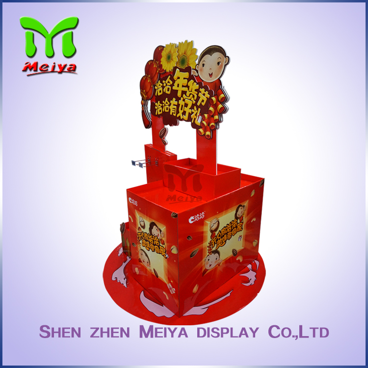 Chinese manufacturer cardboard pallet display box with high quality and best service