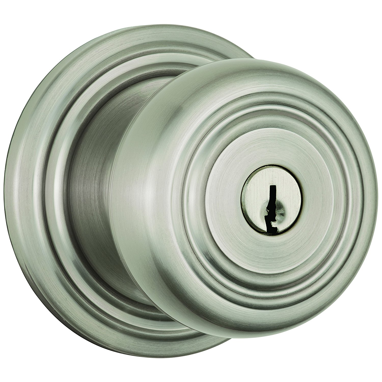 Get Quotations · Brinks Home Security Push Pull Rotate Door Locks 23004 119  Webley Entry Knob