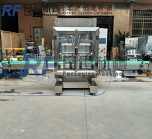 Four heads China supplier soft carbonated liquid drink filling machine