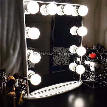 Hollywood Mirror With Light Bulbs Hollywood Vanity Mirror With