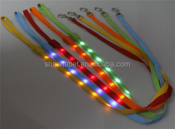 Hondenriem Met Licht : Stks waterdichte lichtgevende led halsband met strip licht