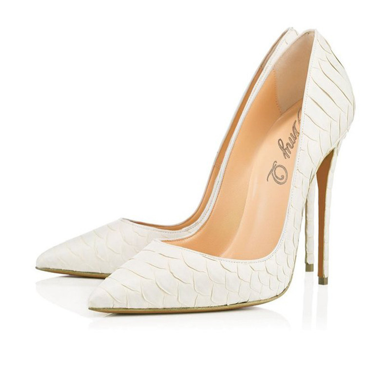 HMP18 ladies fashion womens pumps sanke skin shoes high <strong>heels</strong>