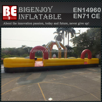 Outdoor Large Interactive Inflatable Wrecking Ball Sport Games - Buy ...