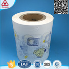 ISO9001 Printing breathable polyethylene PE film for baby diapers