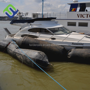 ships salvage jack up rubber balloon, inflatable floating pontoons