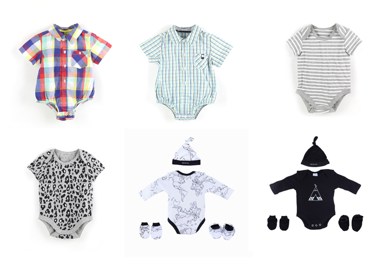 Children garment infant clothes set boys clothing