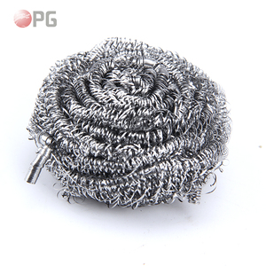 Kitchen dish cleaning stainless steel ss scourer/iron scrubber