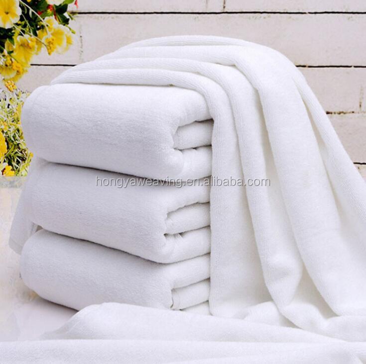 Fijne prijs goede kwaliteit wit hotel handdoeken