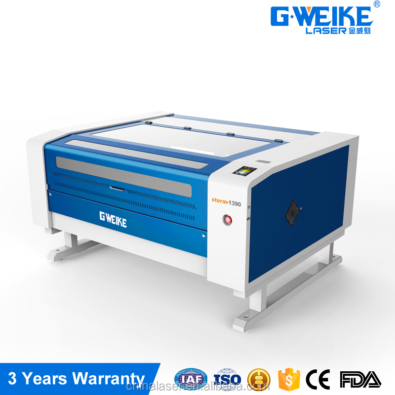 cheap CNC 80W chinese laser cutting and graving machine used for nonmetal