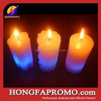 Wax Flame Color Changing Candles