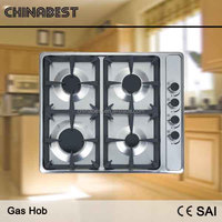 2016 promotion new model bule flame built in gas hob