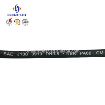 Cost-effective light weight non twist multi-function power steering hose sae j188 supply