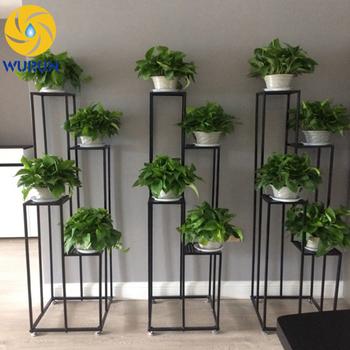 Custom Metal Strength Planter Stands Hanging Flower Pot Rack & Custom Metal Strength Planter Stands Hanging Flower Pot Rack - Buy ...