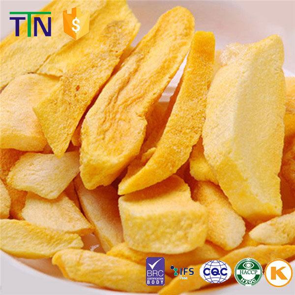 Ttn Organic Export Crispy Freeze Dried Fruit Mango Dice