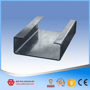 Special Offer High Quality Steel Structure Warehouse Workshop Roof Wall Building C Z Shaped Section Channel Purlins Wholesale