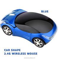 800 1200 DPI Wireless Optical Mouse Car Shape