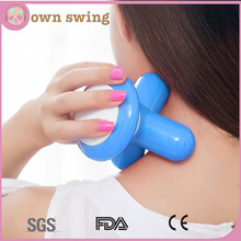 Electric Portable Hand Held Mini Massager/mini Usb Battery Electric Handled Wave Vibrating Body Massager