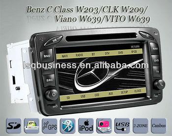 mercedes slk-w170 car stereo mercedes clk-c209 w209 autoradio gps