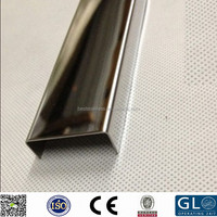 Hot-sell cake building material mirror SUS304 stainless steel U channel