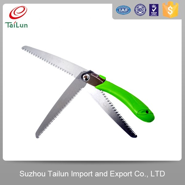 folding hand hack saw /saw for pruning tree