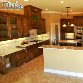 Custom Rubber Wood Kitchen Cabinets,Rustic Kitchen Cabinets - Buy ...
