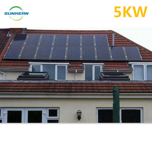 Rooftop solar system 5kw on grid, with one stop solution for home use, EPC