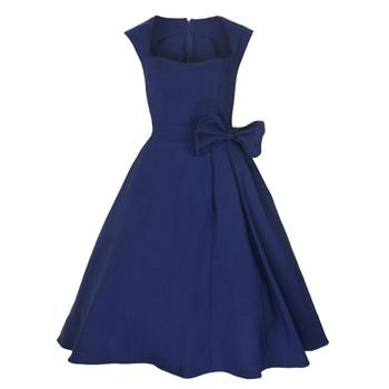Cotton Vintage Retro 50s Style Pin Up Design S-5xl Plus Size Wedding Guest  Dresses - Buy Wedding Guest Dresses,Pin Up Dress,Vintage Retro Dresses ...