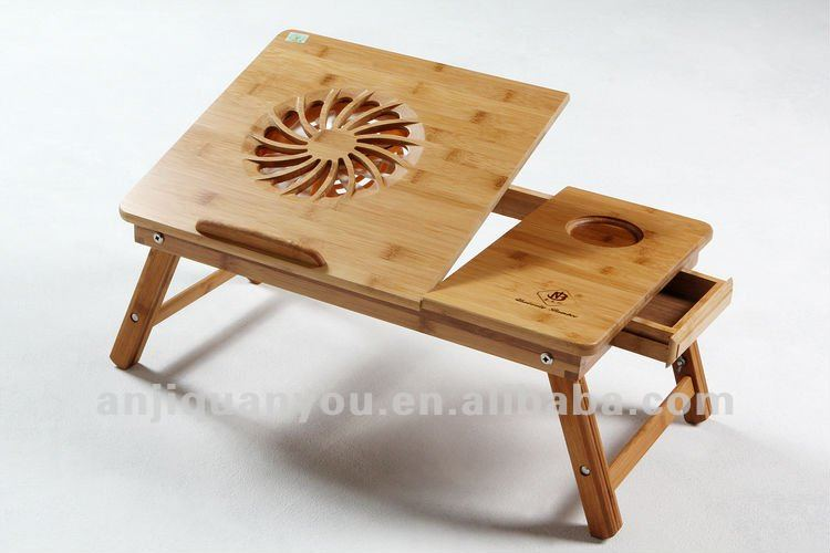 2015 high quality bamboo tray for bed and sofa