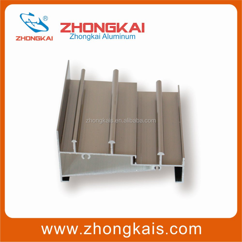 3 Pannels Structural Window Profiles For Aluminium