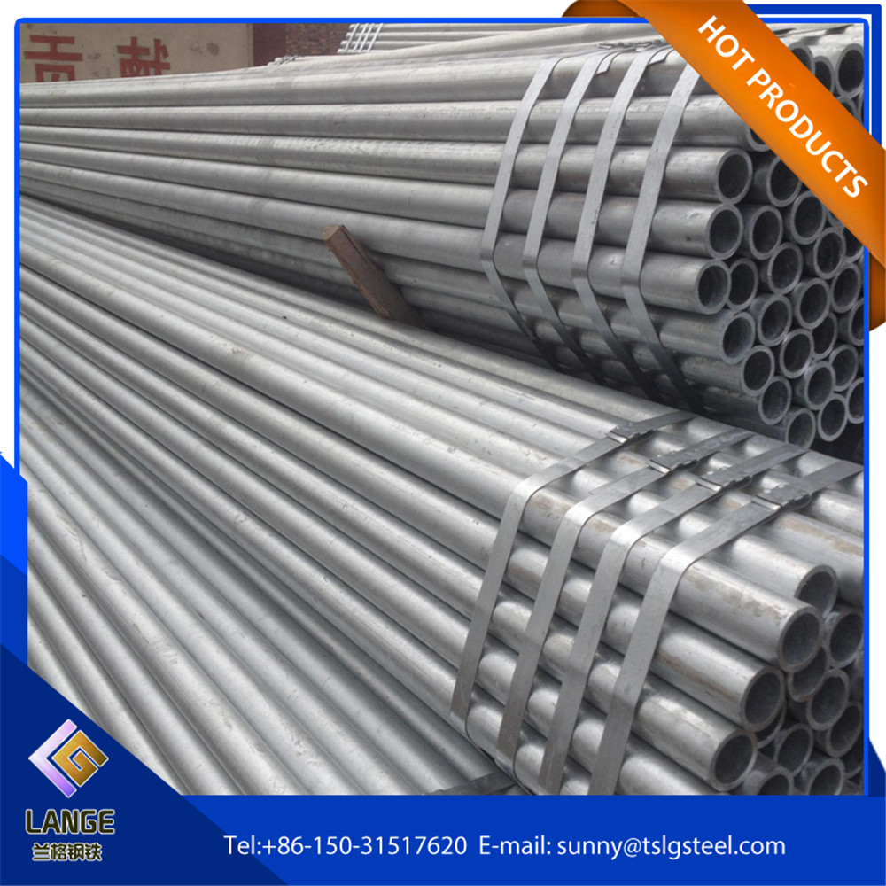 25mm diameter steel round pipe load in 20ft container