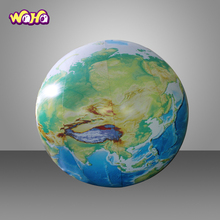 Giant Inflatable global moon บอลลูน inflatable earth global สำหรับขาย