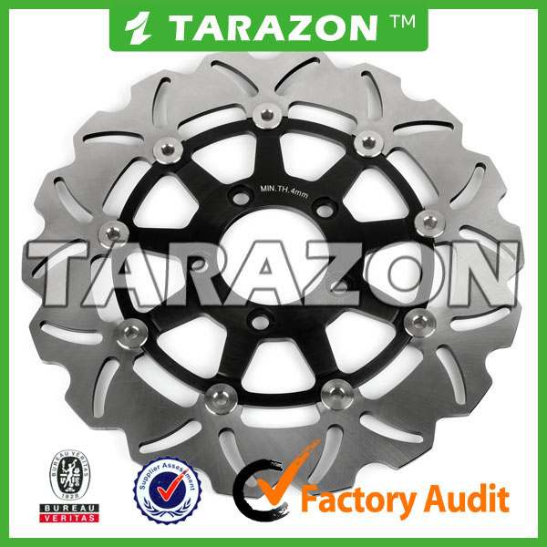 Suzuki SV1000S motorcycle front petal floating brake discs