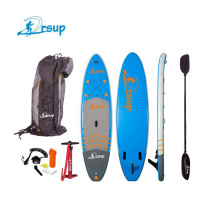 Hot deal พลาสติกเด็ก inflatable board SUP paddle