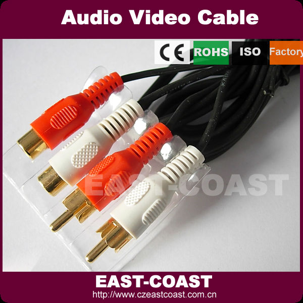 rca audio / video extension cable