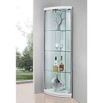 Corner Display Design Glass Showcase Buy Design Glass