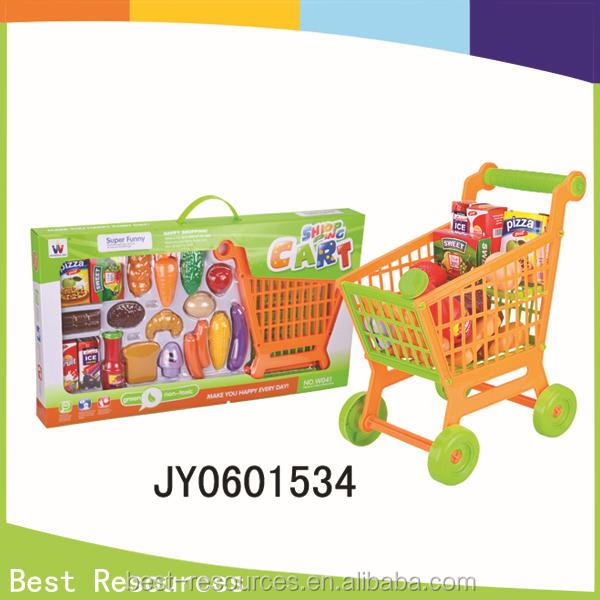 4154974ff الساخنة و أحدث الاطفال البلاستيكية سوبر ماركت لعبة عربة التسوق لعب مجموعة  للأطفال