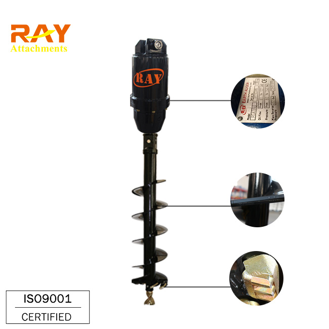 Auger For Loader Attachment - Buy Auger For Mini Digger,Core Drill  Rod,Horizontal Drilling Machine Product on Alibaba com