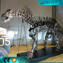 Museum exhibition life size dinosaur skeleton replica for sale